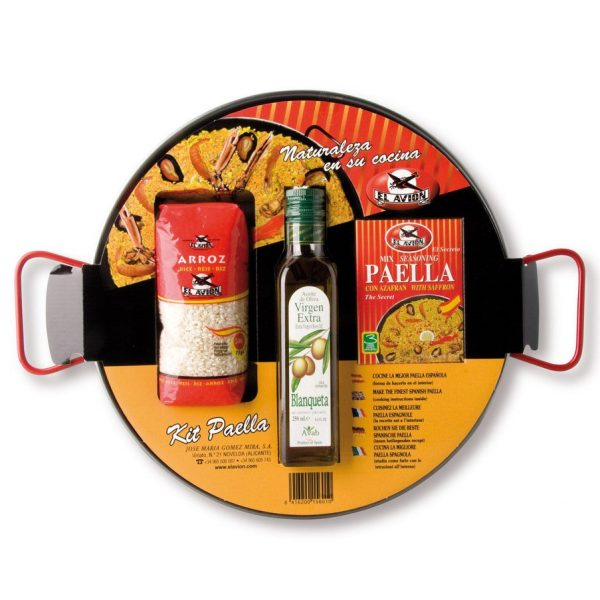 Paella kit serves 6 people