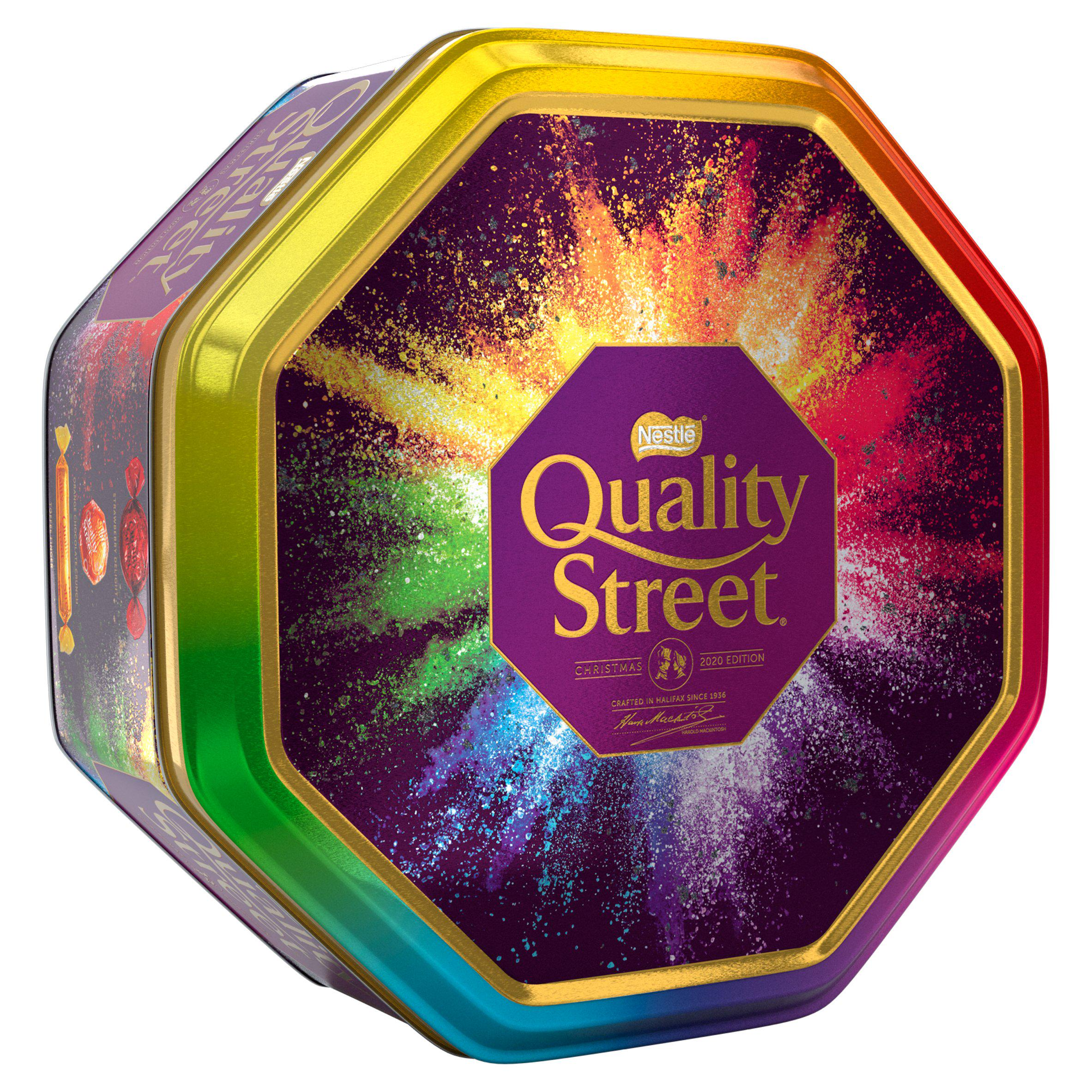 Nestlé UK Quality Street Chocolate & Toffee Tin 1kg
