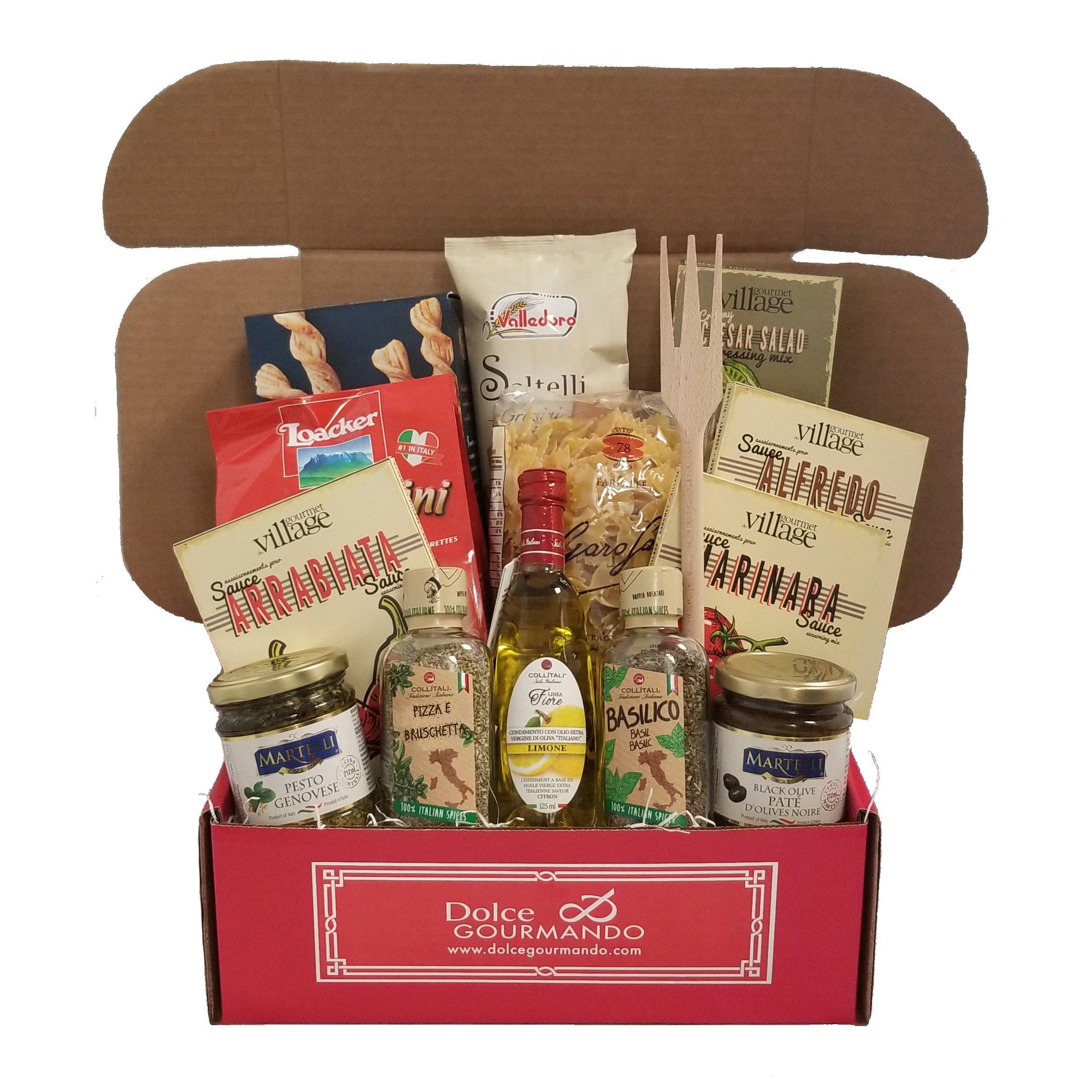 Italian Treasures Gourmet Gift Basket