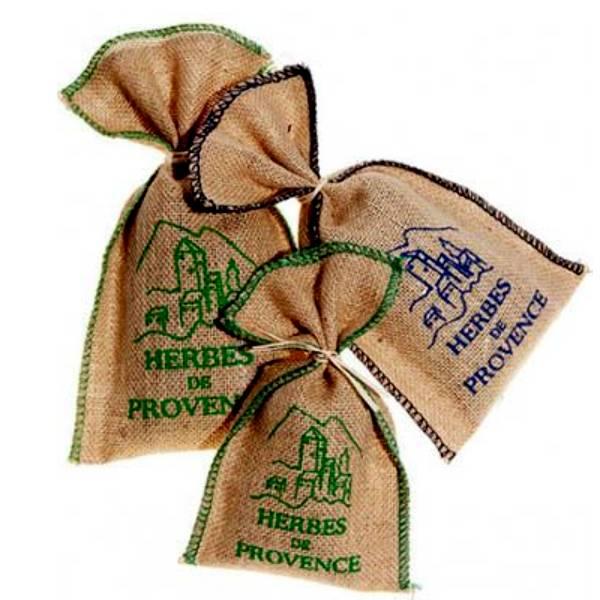 Herbes de Provence Burlap Bag
