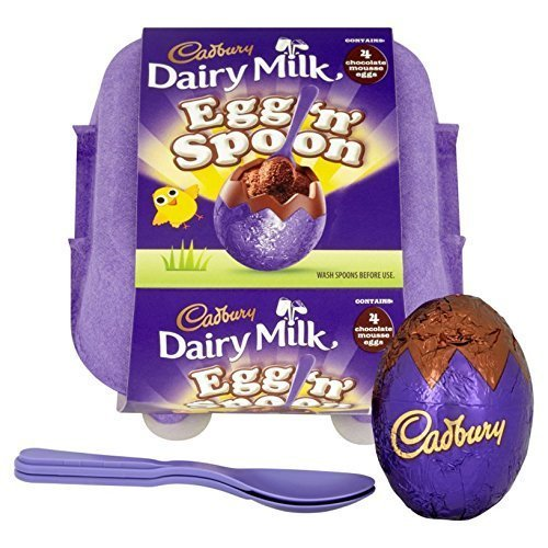 Cadbury Egg 'n' Spoon