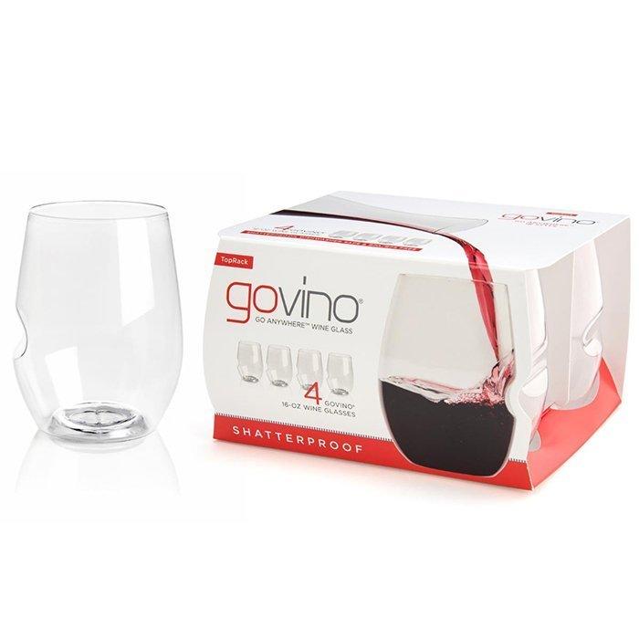 Govino Stemless unbreakable Red Wine glasses
