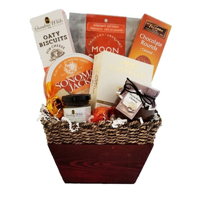 Highland Savoury Cheese Basket