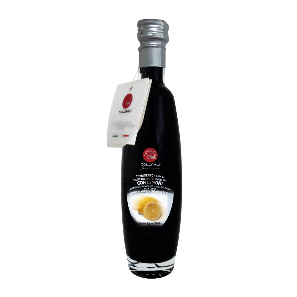 Collitali Lemon Infused Balsamic Vinegar from Modena, 125ml