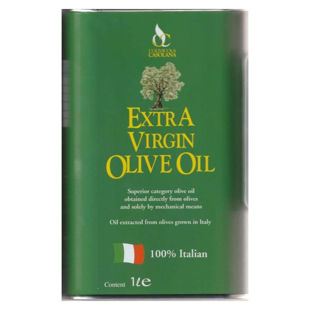 Casolana Olive Oil tin 1l