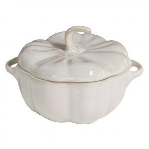 Staub Ceramic Pumpkin Cocotte – 0.5qt. 40511-839_L