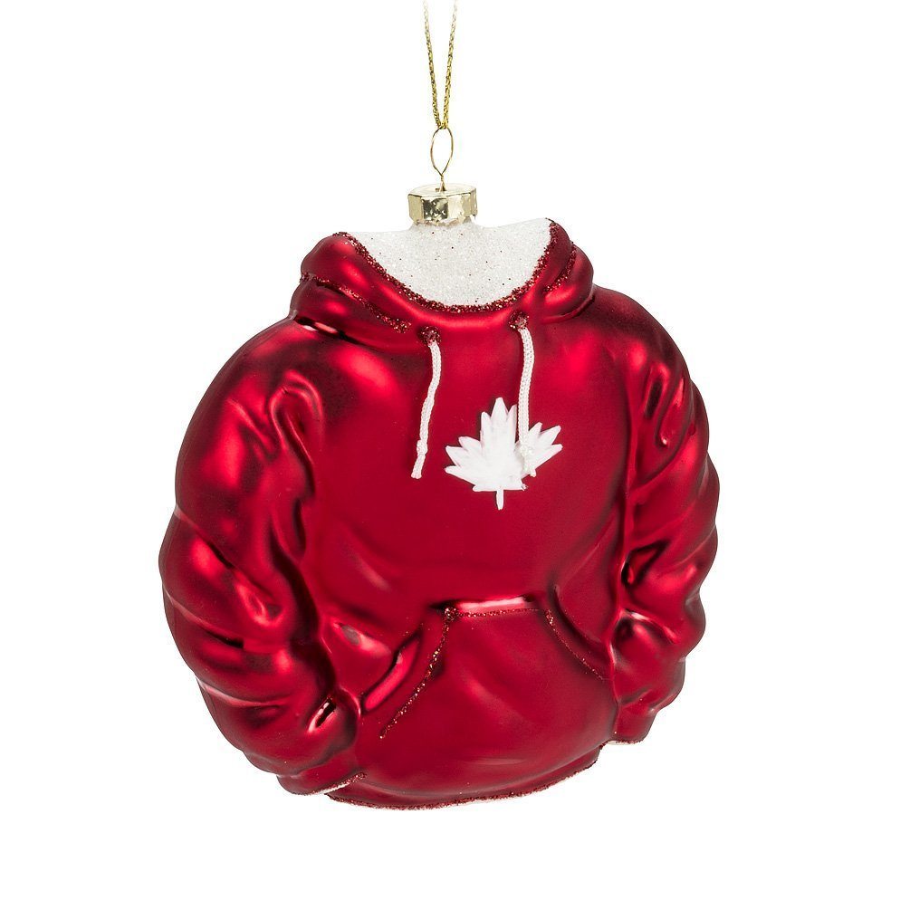 Maple Leaf Canada Ornament Hoodie