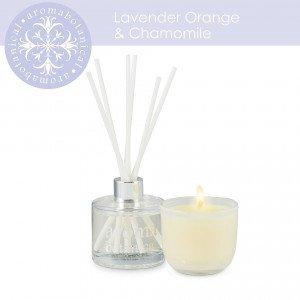 aromabotanica lavender orange gift set
