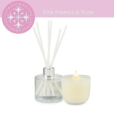 aromabotanical pink freesia gift set