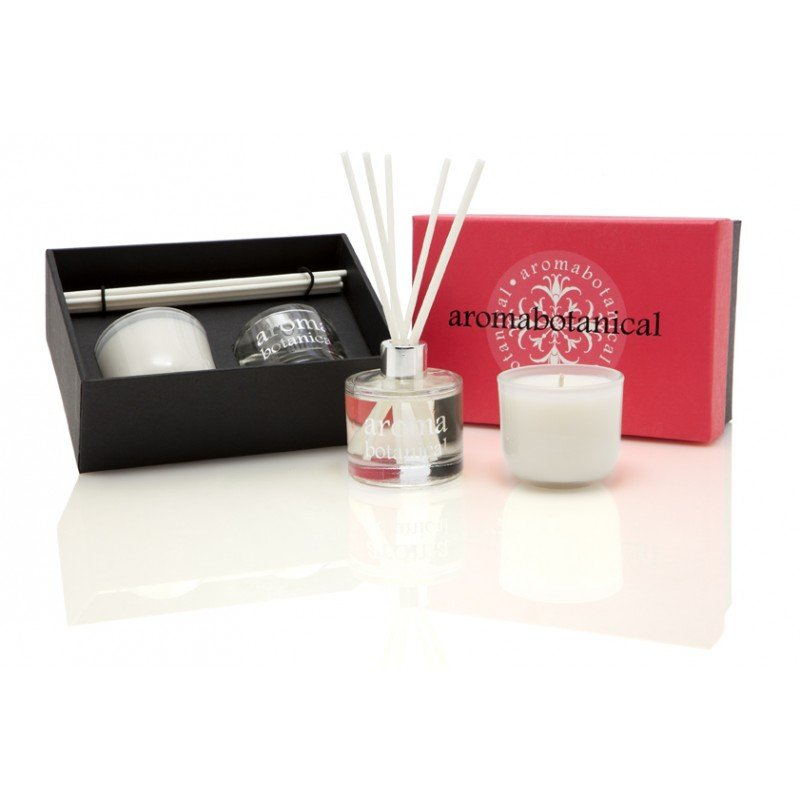 aromabotanical rose gardenia gift set