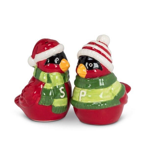 Cardinal Salt & Pepper ceramic