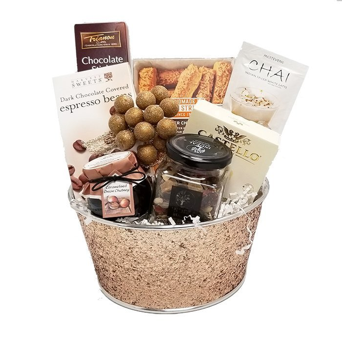Sparkle Holiday Gift Basket
