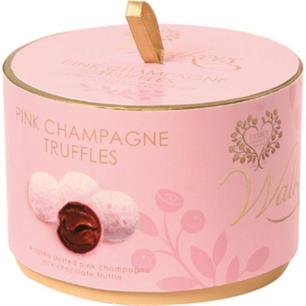 Walkers Pink Marc de Champagne Truffles