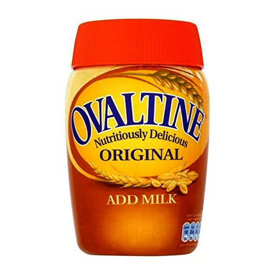 Ovaltine original add milk