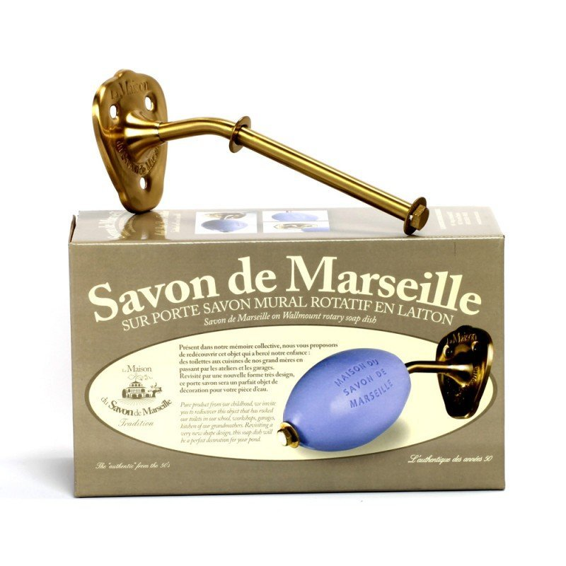 Wall-Mount Rotary Soap Holder-La Maison du Savon de Marseille