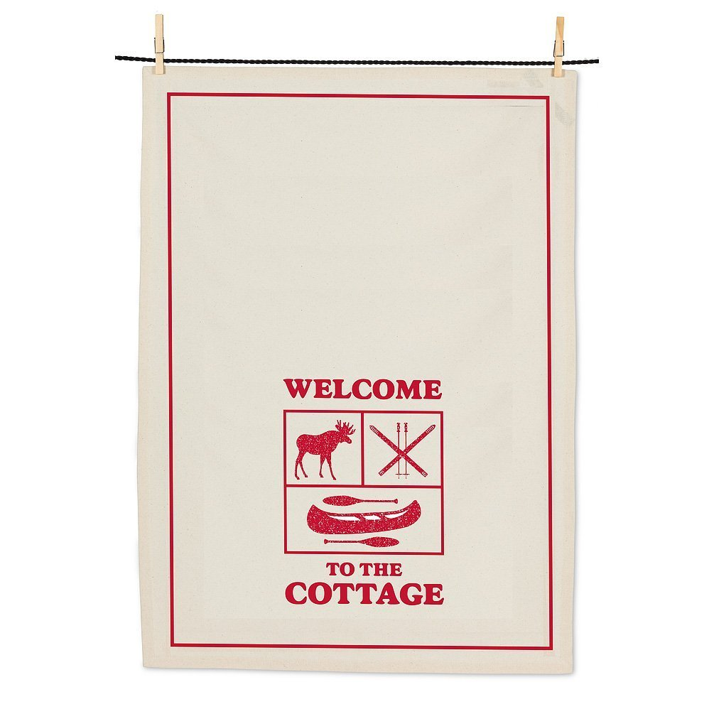 Welcome to the Cottage Teatowel