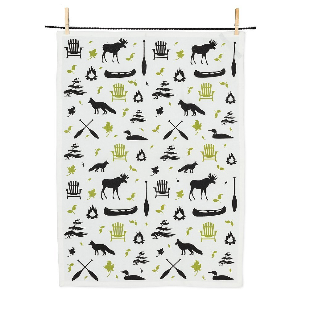 Cottacge Icons Tea Towel