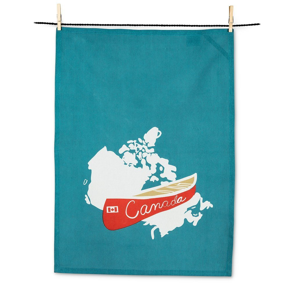 Iconic Canada tea towel