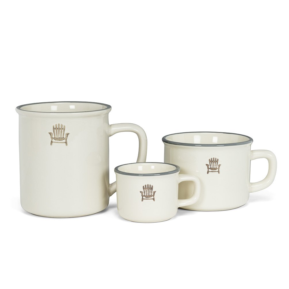 Cottage Coffee Mug, Cappuccino and Espresso Cup