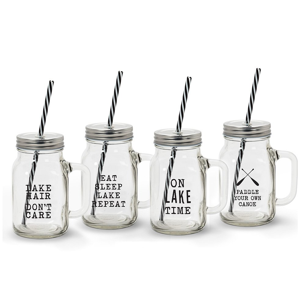 Cottage Life Mason Jar Drinkware