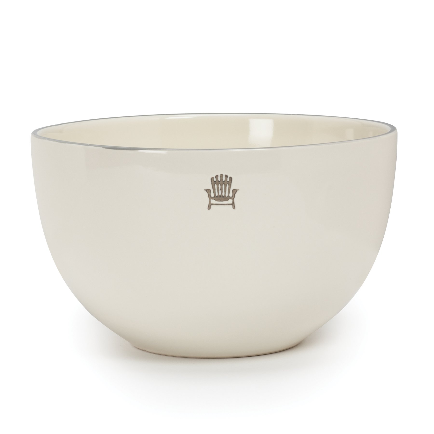 Ivory Cottage Salad Bowl