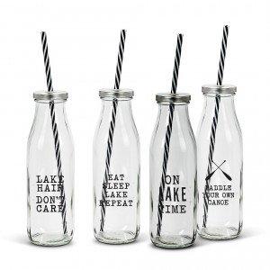Reusable drink bottles