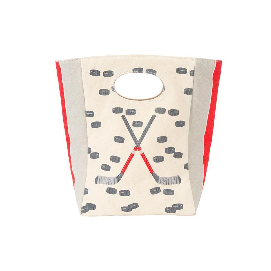 FLUF Lunch Bag with Hockey Sticks