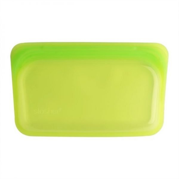 Stasher Silicone Green Snack Bags