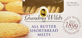 Grandma Wild's All Butter Shortbread Melts