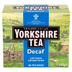 Taylors Yorkshire Decaf 80 Teabags