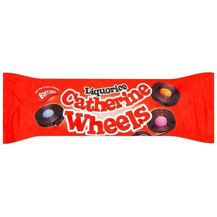 Catherine Wheels Liquorice
