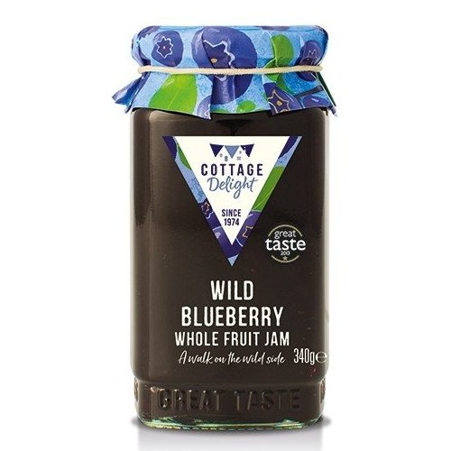 Cottage Delight Wild Blueberry Jam