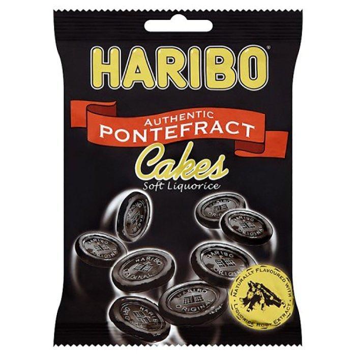 Haribo Pontefrac Cakes Liquorice
