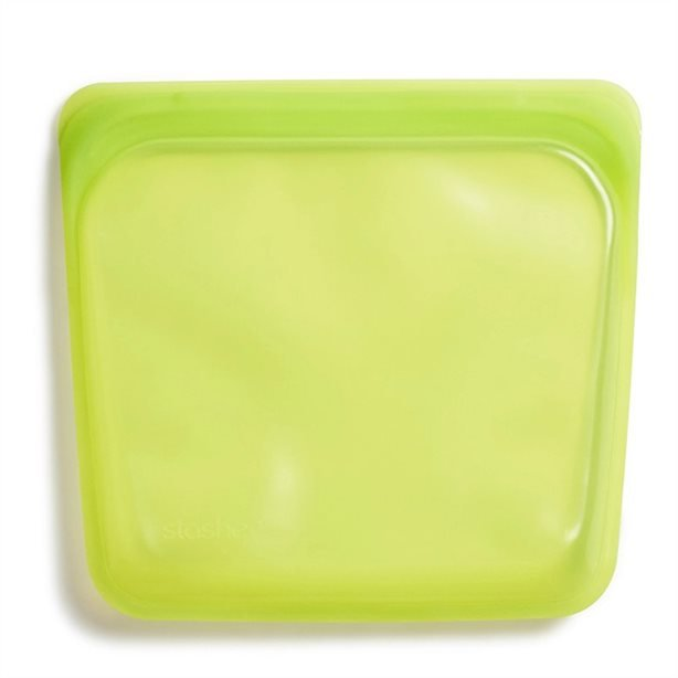 Stasher Silicone Lime Green Bags