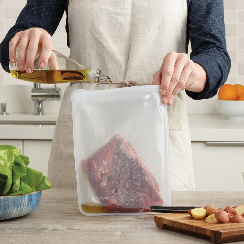 Stasher Silicone Sous-Vide Bags
