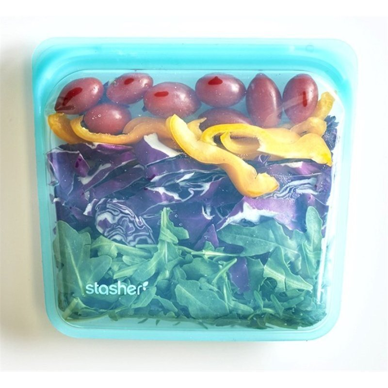 Stasher Aqua Silicone Sandwich bag