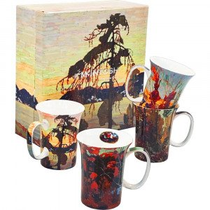 Tom Thomson 4 Bone China Mugs