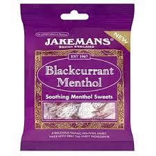 Jakeman's Blackcurrant Menthol