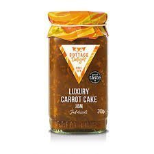 Cottage Delight Luxury Carrot Cake Jam