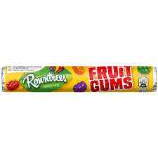 Rowntrees Fruit Gums Roll