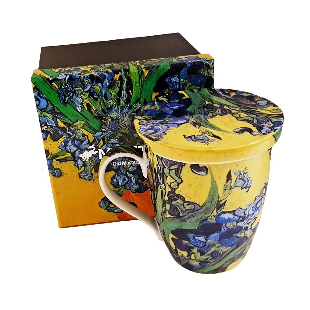Van Gogh Iris bone china Tea mug