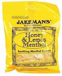 Jakeman's Honey & Lemon Menthol