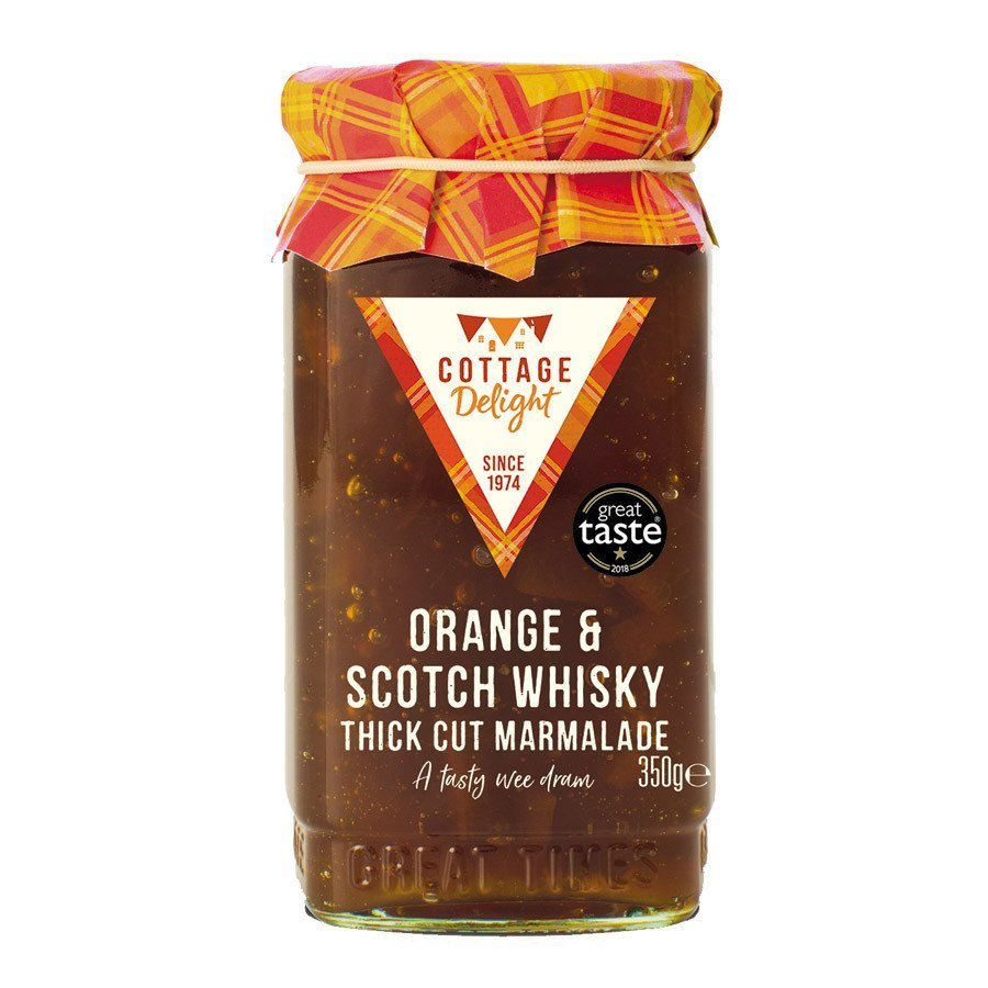 Cottage Delight Orange & Scotch Whiskey Marmalade