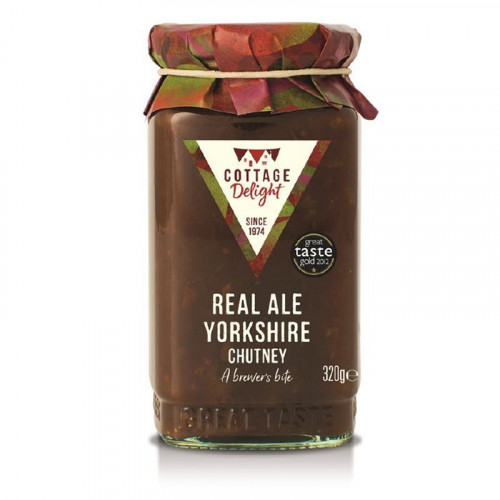 Cottage Delight Real Ale Chutney
