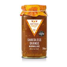 Cottage Delight Shredless Orange Marmalade