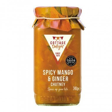 Cottage Delight Spicy Mango & Ginger Chutney.