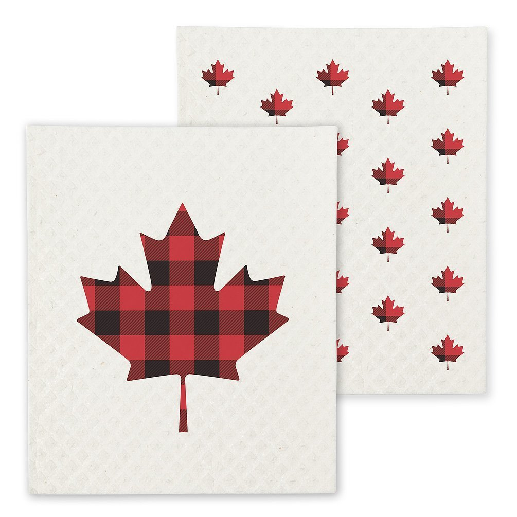 Maple Leaf Swedish cloth