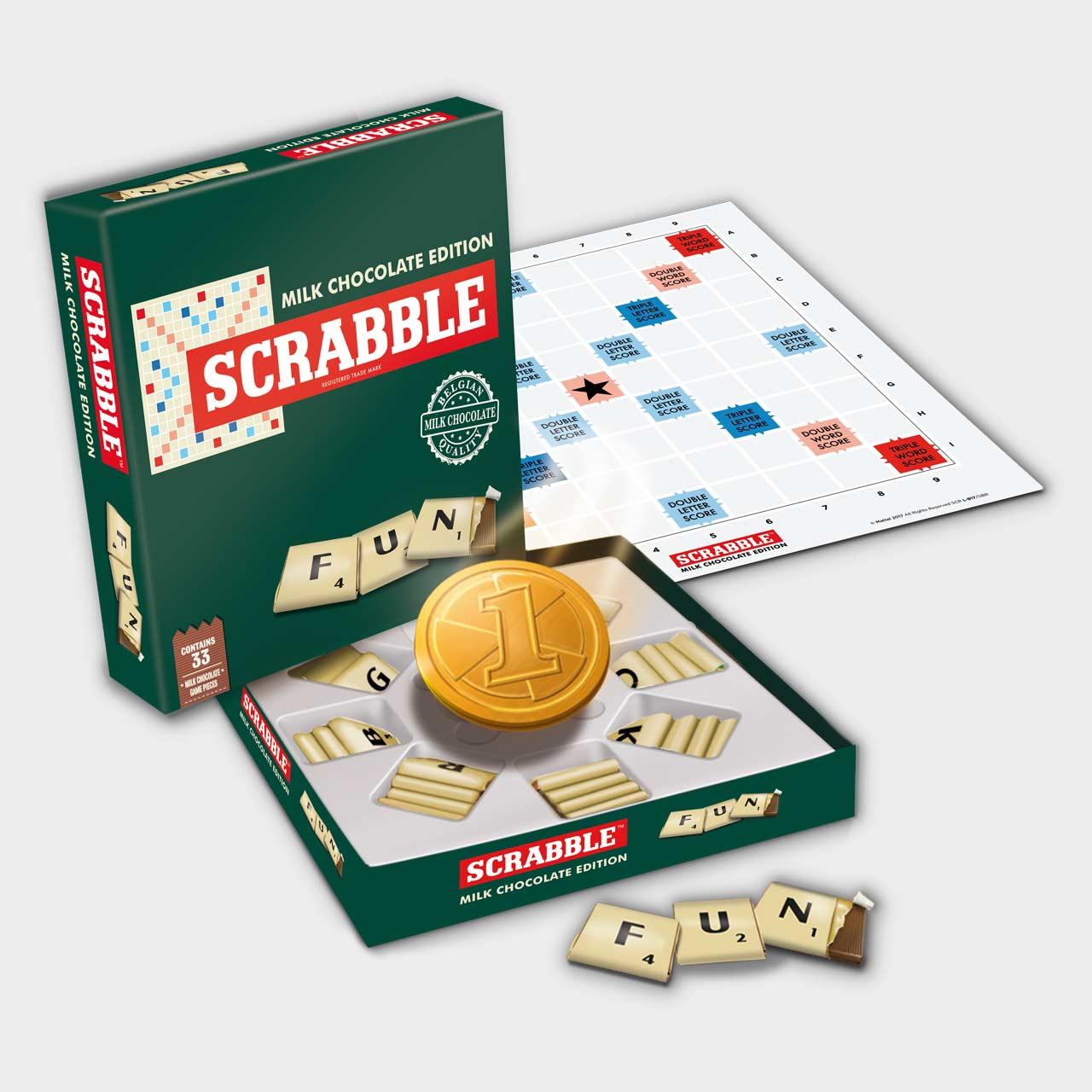 Scrabble Chocolate