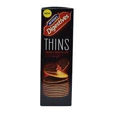 McVitie's Digestive Thins Dark Chocolate