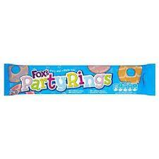 Fox's Party Rings Biscuits